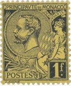 Monaco - 1891/1894 - YT 20, neuf