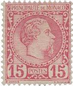 Monako 1885 - YT 5 - Postituore