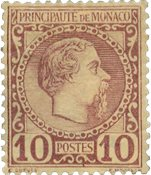 Monaco - YT 4 - Neuf avec charnières