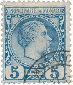 Monaco - YT 3 - Oblitéré
