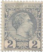 Monaco - 1885 - YT 2, neuf