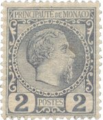 Monaco - YT 2 - Neuf avec charnières