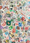 Hele Verden - 10000 stemplede frimærker