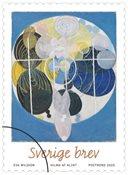Suède - Hilma de Klint, art - Timbre neuf de rouleau