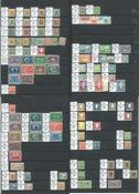 Island - Samling postfrisk AFA imellem 12-697 samt  tjeneste