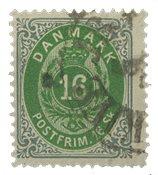 Danemark - AFA 20 oblitéré