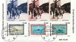 75-året for Amerika-udgaven - Dagstemplet - Miniark