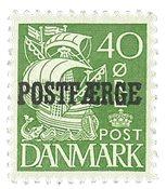 Danmark - AFA 18 postfærge, postfrisk