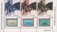 Greenland - 75th jubilee of the American Issue - Mint souvenir sheet
