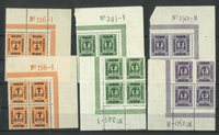 Danmark - AFA 160+164+165 postfrisk