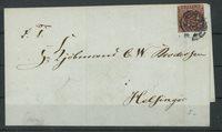 Danmark - 4 RBS på brev
