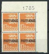Danemark - AFA 41 bloc marginal neuf