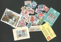 Danmark - Postfrisk lot i en pergamynpose