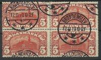 Danemark - AFA 81 bloc de 4 obl.