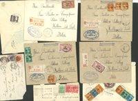 Diverse lande - Kuverter fra mange lande