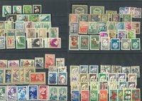 Tyrkiet - Postfrisk samling på 7 indstikskort