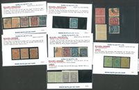 Bulgarie - Neuf et obl., timbres taxe, 1884-1921