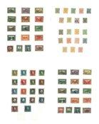 Bosnien - Postfriske frimærker på løse albumblade