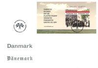 Danemark - Réunification - Env. 1er jour avec BF