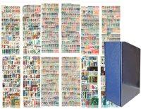 Europe de l'Est - Coll. en reliure à vis avec étui  de prot. - 5321 timbres - 5321 timbres