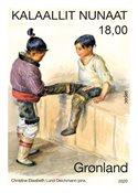 Grønland - Sepac Kunst - Postfrisk frimærke
