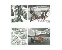 Færøerne - Europa 2020 Gamle postruter - Postfrisk sæt selvklæbende frimærker