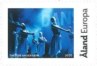 Åland - Mon timbre / Groupe de dance *Dunderdans* - Timbre neuf