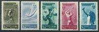 Rumænien - AFA 851-55 postfrisk