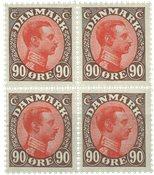 Danmark - AFA 109 postfrisk 4-blok