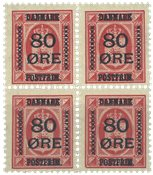 Danemark - AFA 83 bloc de 4 neuf sans ch.