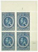 Danemark - AFA 292x neuf sans ch. bloc de 4