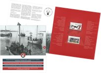 Grønland under 2. verdenskrig V - Dagstemplet - Souvenirmappe