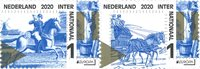 Netherlands - EUROPA 2020 Ancient Postal Routes - Mint stamp