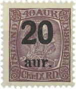 Islande 1921-22 - AFA 109 - Neuf sans ch.