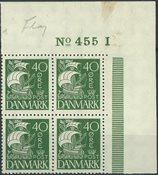Danemark - AFA 174 bloc de 4 neuf avec ch.