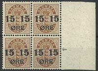 Danmark - AFA 41z postfrisk 4-blok