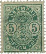 Danmark 1882 - AFA 32 - Ubrugt