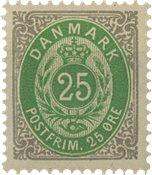Danmark 1875-79 - AFA 29 - Postfrisk