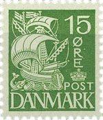 Danmark 1940 - AFA 257a - Postfrisk