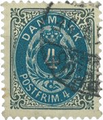 Danemark 1875-79 - AFA 23 - Oblitéré