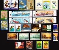 Paraguay, Peru, Suriname, Tristan da Cunha - Frimærkepakke - Postfrisk
