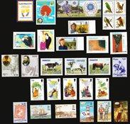 Chili, Colombie, îles Falkland, Paraguay, Pérou - Paquet de timbres  - Neufs