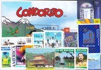 Argentiina, Bolivia, Chile - Postimekkipakkaus - Postituoreina