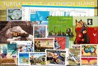 Argentina, Ascension, Bolivia, Chile - Frimærkepakke - Postfrisk