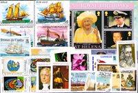 Sainte-Hélène, Tristan da Cunha, Uruguay - Paquet de timbres  - Neufs