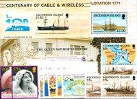 Ascension - Paquet de timbres  - Neufs