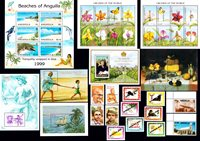 Anguilla, Antigua & Barbuda - Frimærkepakke - Postfrisk