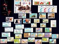 Antigua-et-Barbuda, Aruba, Bahamas, Costa Rica, Cuba - Paquet de timbres - Neufs