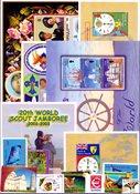 Saint Pierre & Miquelon, Îles Turques et Caïques, Nations Unies - Paquet de timbres - Neufs