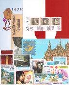 Nordamerika diverse lande - Frimærkepakke - Postfrisk